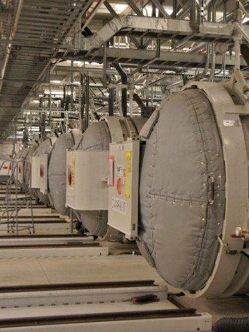 Einblick in die Atomanlage im iranischen Fordo.AFP