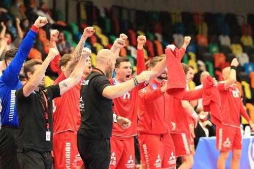 Es geht los: Österreichs Handballer sind voll auf die nächsten Großereignisse fokussiert.ap