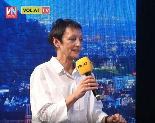 """FH-Rektorin Tanja Eiselen war am Dienstagabend zu Gast bei """"Vorarlberg live""""."""