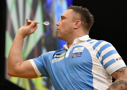 Gerwyn Price krönte sich bei der Darts-WM in London zum neuen Weltmeister und ist auch der neue Leader in der Weltrangliste. APA