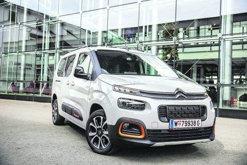Hingabe an das Raumgefühl: Der gefällige Citroën Berlingo XL ist praktisch für alle Transportaufgaben gerüstet. vn/sams