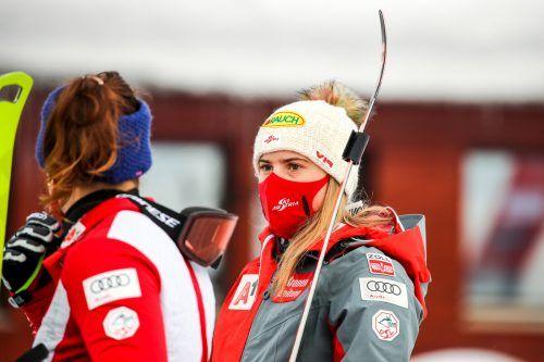 In Kranjska Gora war es für Katharina Liensberger nicht nach Wunsch gelaufen.epa