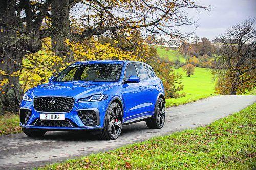 Jaguar hat den F-Pace auch in der Top-Version aufgefrischt.werk