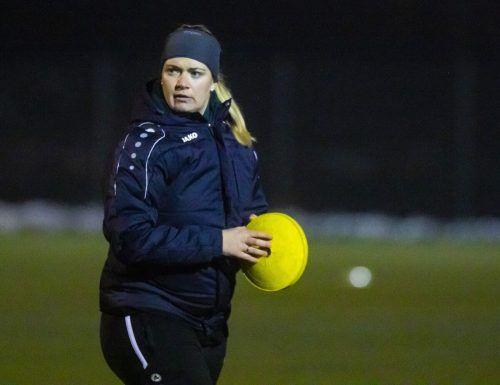 Die Übersaxnerin Jessica Thies gibt morgen ihr Debüt auf der Trainerbank des FFC Vorderland.paulitsch
