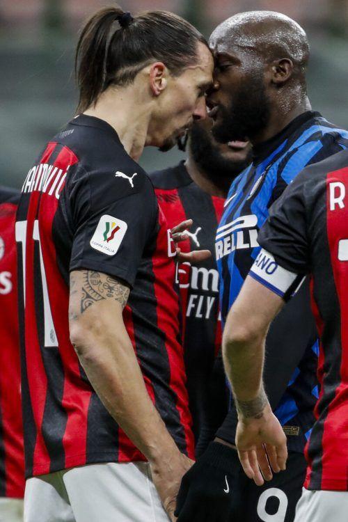 Jeweils ein Spiel Sperre fassten Zlatan Ibrahimovic und Romelu Lukaku aus.ap