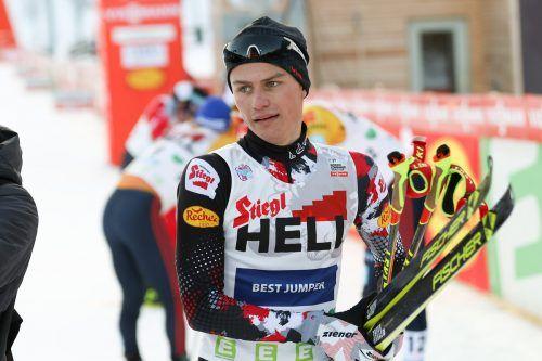 Johannes Lamparter darf sich über einen starken siebten Platz freuen.gepa