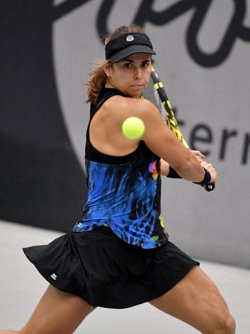 Julia Grabher rückte in der WTA-Rangliste um 52 Plätze auf Rang 196 vor.APA