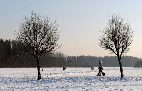 Lange Spaziergänge sind auch im Winter ein schöner Zeitvertreib. hofmeister