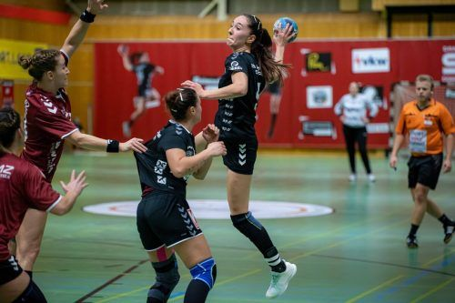 Lidiya Kovacheva erzielte gegen Perchtoldsdorf acht Treffer.broger