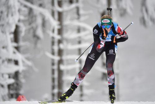 Lisa Hauser wusste im Einzel-Weltcup auf deutschem Boden zu brillieren.AFP