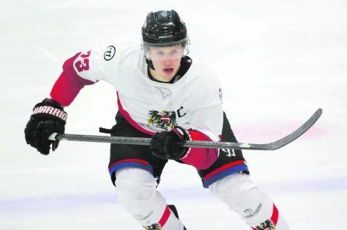 Marco Rossi startet nach der Unter-20-A-WM bei NHL-Team von Minnesota Wild durch. gepa