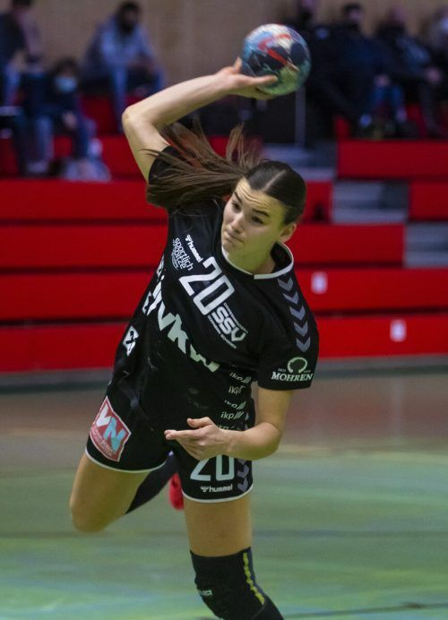 Marie Huber führt mit 68 Treffern die interne SSV-Torschützinnenliste an.Paulitsch