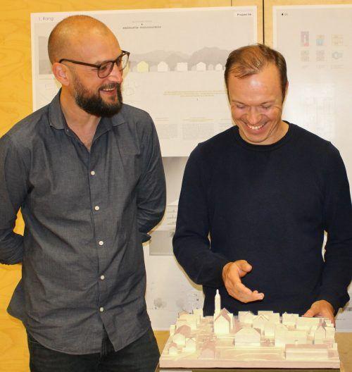 Projekt neue Volksschule und Kindergarten Bezau von Markus Innauer und Sven Matt.
