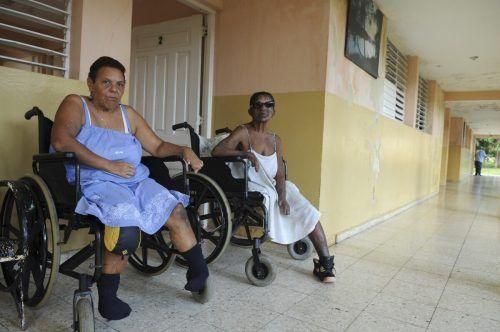 Millionen Menschen leben mit teils schweren Behinderungen durch Lepra. reuters