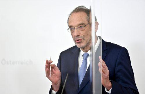 Minister Faßmann hat fünf Millionen Tests bestellt. APA