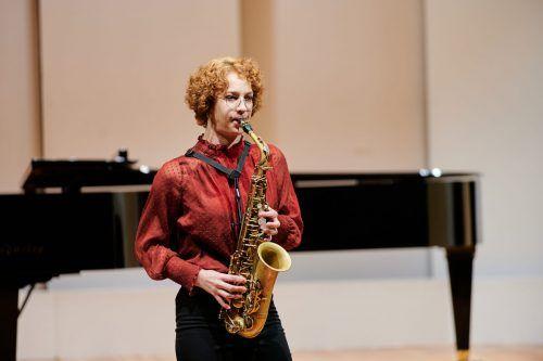 Zu den Ausgezeichneten zählt die Saxofonistin Ayleen Weber. marin