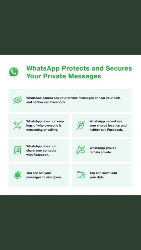 Mit dem Twitter-Post will WhatsApp die Gemüter besänftigen. Twitter
