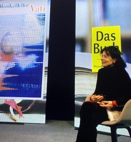 """Monika Helfer bei der Online-Lesung in """"Vorarlberg Live"""".VN"""