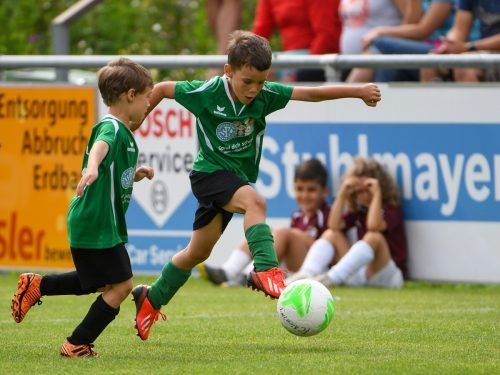 Noch im Herbst konnten die jungen Fußballer ihre geliebte Sportart ausführen. Seit Ende Oktober darf nicht mal mehr trainiert werden.VN-Lerch