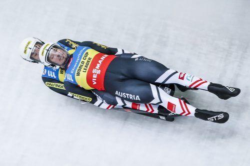 Obermann Thomas Steu und Lorenz Koller gehen als Weltcupleader im Doppelsitzer in die EM-Bewerbe in Sigulda.FIL