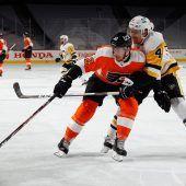 Siegtor von Michael Raffl für die Philadelphia Flyers