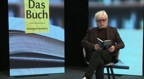 Reinhold Bilgeri las am Mittwochabend bei Russmedia in Schwarzach aus seinem Roman.