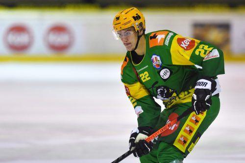 Renars Karkls gelang der Siegtreffer für den EHC Lustenau.Lerch