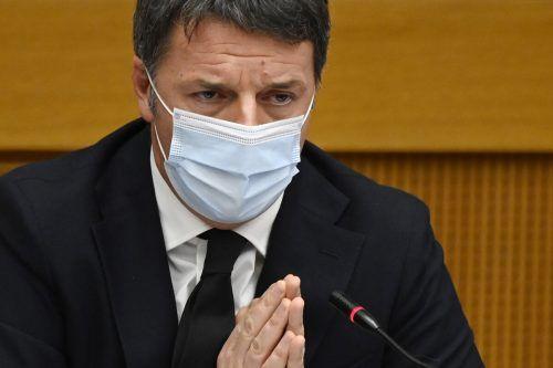 Renzi ließ die Koalition platzen. Sie hat keine Mehrheit mehr im Parlament.AP