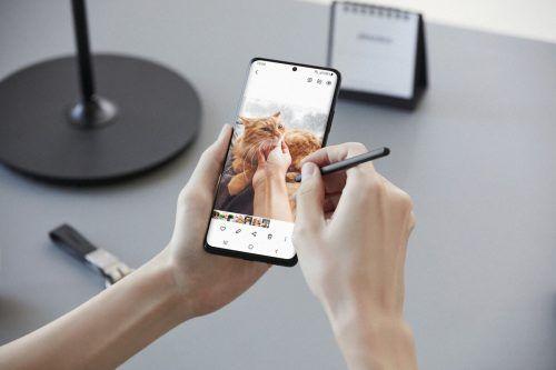 Samsung hat seine neuen Smartphone-Flaggschiffmodelle vorgestellt. ap