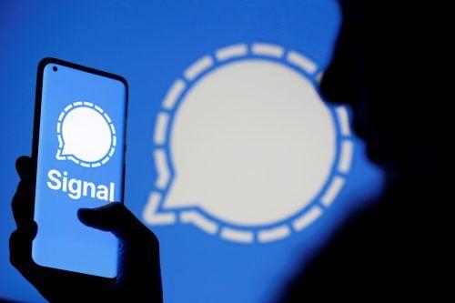 Signal kann auf allen Märkten trumpfen, nun muss es die Erwartungen erfüllen - und trotz verdoppelter Nutzerzahlen dem Ansturm gewachsen sein. Reuters