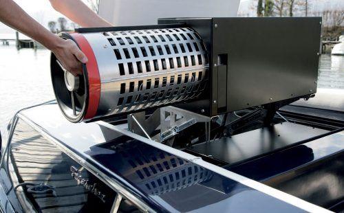 Sportboot mit Brennstoffzellen.apa