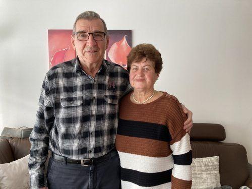 """Stana und Zvonko Ramljak: """"Wir sind gesund, der Familie geht es gut - so können wir das Leben genießen."""""""