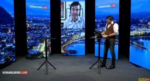 Stefan Sagmeister berichtete am Mittwoch live aus New York.