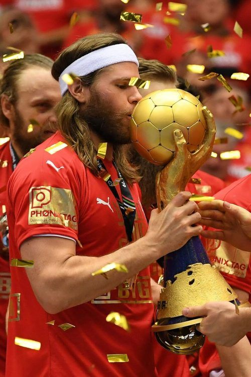 Superstar Mikkel Hansen und Dänemark haben die Titelverteidigung im Visier. Reuters