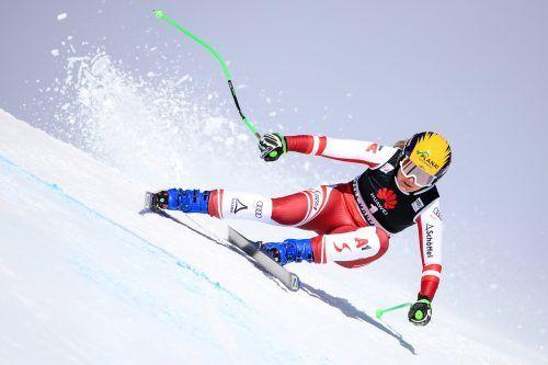 Tamara Tippler ist aktuell Österreichs heißestes Eisen auf einen Spitzenplatz bei den Super-G-Rennen in Garmisch.gepa