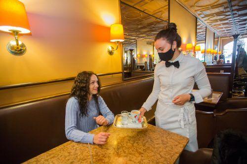 Tourismus und Gastronomie sind von der Coronakrise besonders hart getroffen. Die Branche klagt über die Politik.VN/PAULITSCH