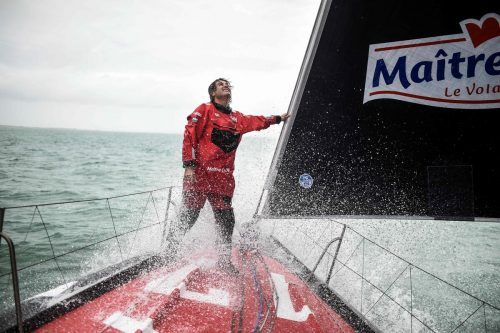 Über 28.000 Seemeilen (51.856 Kilometer) legten die Teilnehmer wie der Sieger Yannik Bestaven bei der Vendée Globe zurück.apa