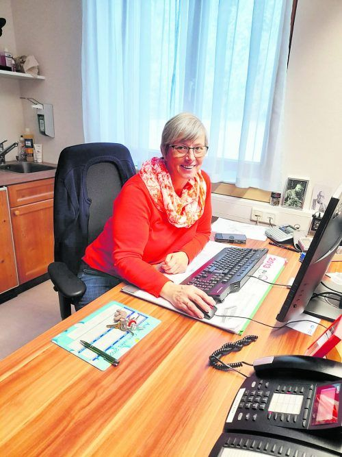 Ulrike Bell unterstützt derzeit auch das Altenwohnheim in Sulzberg.ph au