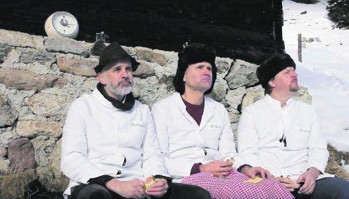 """Unumwunden heimatverbunden: Das Video zu """"So Stolz"""" wurde am Kristberg im Silbertal gedreht.Drei Friseure"""