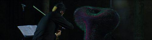 Violinist Hernández Enríquez ist mit Gollobs Wesen in den Dialog getreten. reaktor