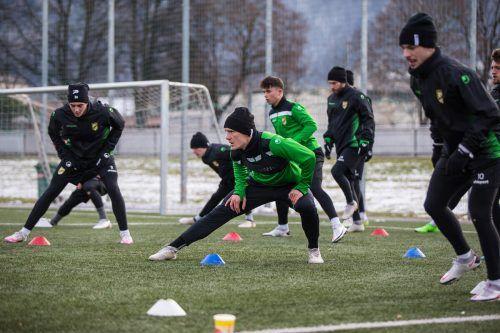 Voller Fokus von Austria Lustenau-Verteidiger Sebastian Feyrer auf die Frühjahrssaison der 2. Liga.steurer