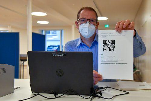 QR-Codes sollen künftig Testverfälscher entlarven helfen. VN/Lerch