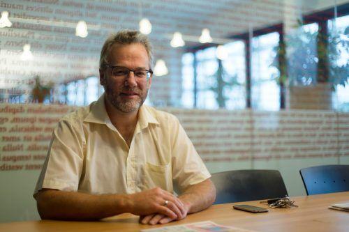 Wissen schaffen und dieses zu teilen ist das Ziel von Wikipedianer Anton Schäfer. VN