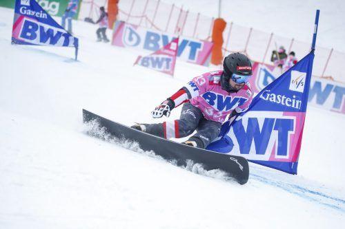 Zwölf Hundertstel fehlten dem Montafoner Lukas Mathies in seinem Achtelfinallauf beim Heimweltcup in Bad Gastein.gepa