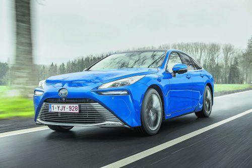 Alternative zum Batterie-Auto: Der Toyota Mirai muss sich weder mit Ladezeiten- noch Reichweiten-Problemen herumschlagen.werk