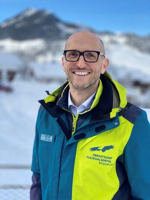 Andreas Gapp ist Sprecher der 32 Skigebiete im Land. bergbahnenKW