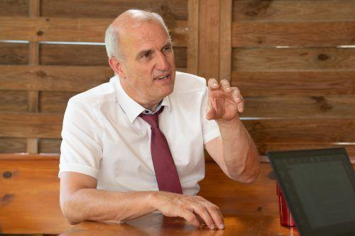 Andreas Kappaurer ist der Leiter der Bildungsdirektion Vorarlberg.VN