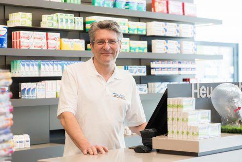 Apothekerkammerpräsident Jürgen Rehak glaubt nicht, dass sich in Vorarlberg so viele Menschen gegen Grippe impfen lassen wie im Vorjahr. VN/Stiplovsek