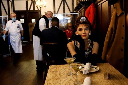 Auch Audrey Hepburn ist unter den Figuren, die Madame Tussauds verliehen hat.Reuters