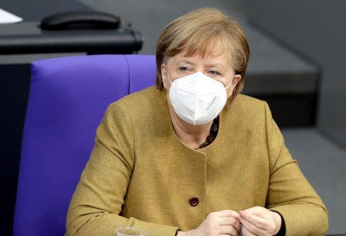 Auch die deutsche Kanzlerin nimmt an dem virtuellen Treffen teil. AP